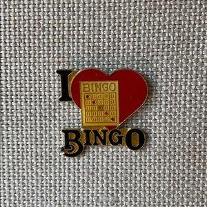 Vintage Pin for Bingo lovers!